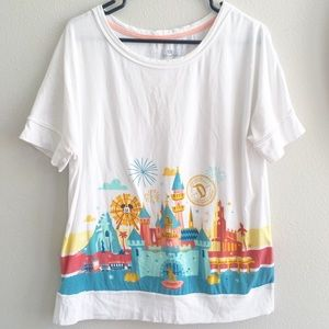 Disneyland Resort Castle Tee L